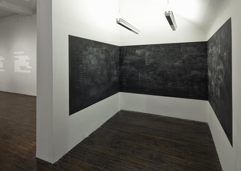 Tous les mots n cessaires 2012 for Peinture tableau craie